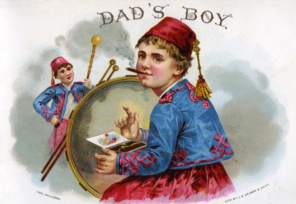 Advertisement「'Dad's Boy' Cigar Box Label」:写真・画像(8)[壁紙.com]
