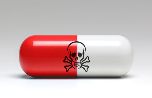 Drug Overdose「Large capsule of dangerous medicine」:スマホ壁紙(2)