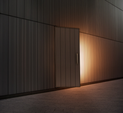 Hope - Concept「Slightly open door lit from within」:スマホ壁紙(8)