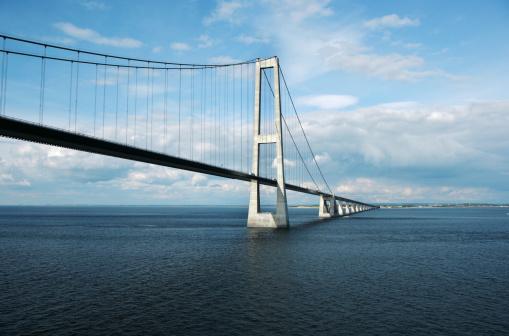 Denmark「Storebaelt Bridge」:スマホ壁紙(7)