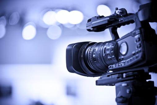 Photography Themes「Professional HD video camera in studio」:スマホ壁紙(9)
