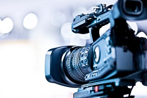 Broadcasting「Professional HD video camera in studio」:スマホ壁紙(12)
