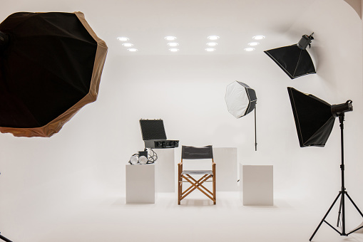 Stage Set「Professional photo studio」:スマホ壁紙(1)