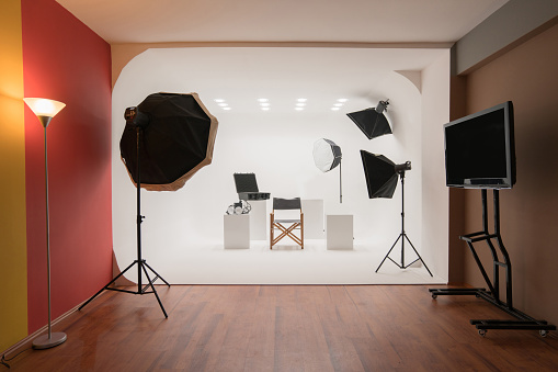 Stage Set「Professional photo studio」:スマホ壁紙(13)