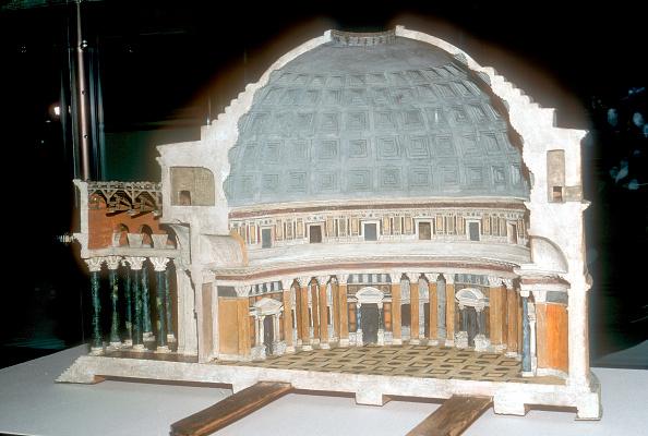 Model - Object「Cutaway model of the Pantheon, Rome.」:写真・画像(12)[壁紙.com]