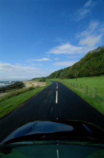 Island of Arran「Driving Along a Road by the Ocean」:スマホ壁紙(16)