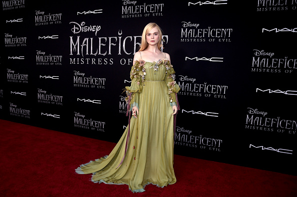 "Elle Fanning「World Premiere of Disney's ""Maleficent: Mistress of Evil""」:写真・画像(12)[壁紙.com]"