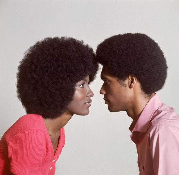 Couple - Relationship「Couple With Afros」:写真・画像(18)[壁紙.com]