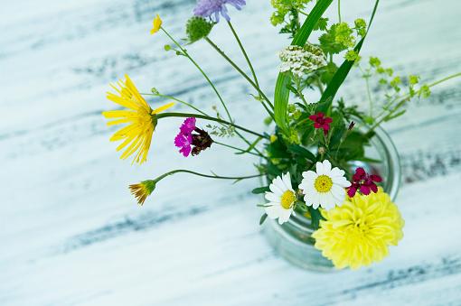 Wildflower「Wildflowers in preserving jar」:スマホ壁紙(18)