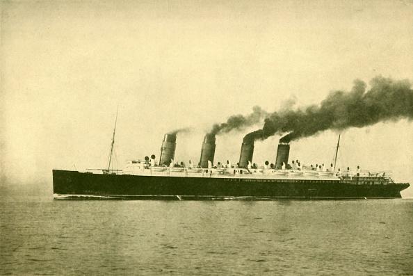 Passenger Craft「The 'Mauretania' (Cunard Line)」:写真・画像(6)[壁紙.com]