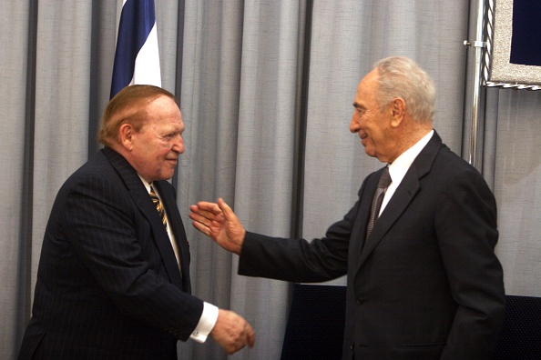 Philanthropist「Sheldon Adelson And Shimon Peres」:写真・画像(11)[壁紙.com]