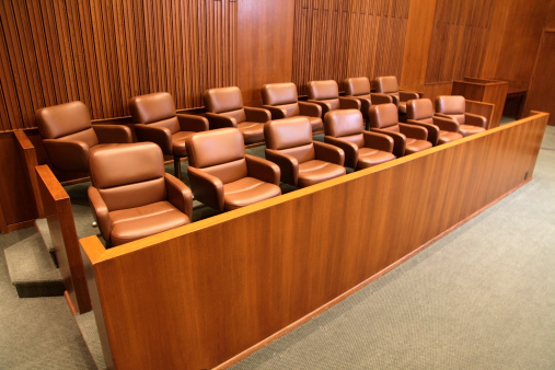 Courthouse「Courtroom Jury Box」:スマホ壁紙(3)