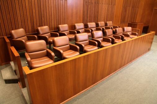Legal System「Courtroom Jury Box」:スマホ壁紙(2)