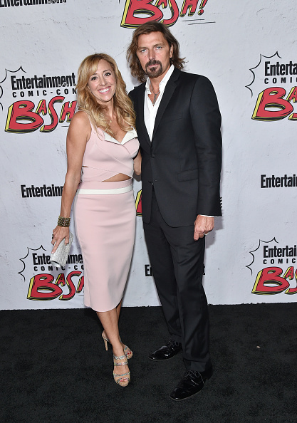 Pale Pink「Entertainment Weekly Hosts Its Annual Comic-Con Party At FLOAT At The Hard Rock Hotel In San Diego In Celebration Of Comic-Con 2017 - Arrivals」:写真・画像(12)[壁紙.com]