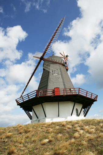 Danish Culture「Windmill, Fanoe, Denmark」:スマホ壁紙(15)