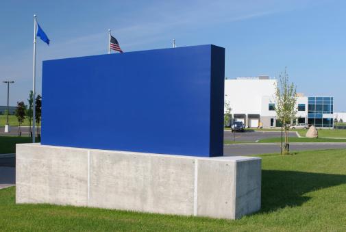 Corporate Business「Blue Corporate Sign」:スマホ壁紙(2)
