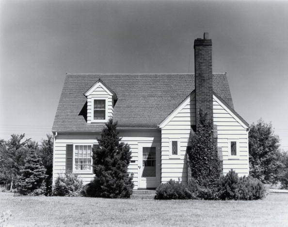 Square Shape「Suburban house」:写真・画像(13)[壁紙.com]