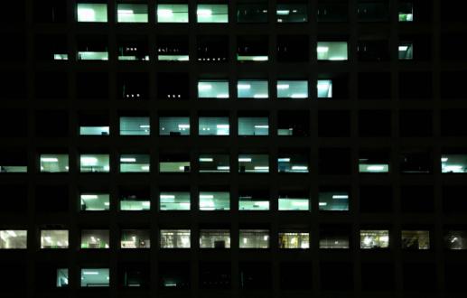 Conformity「Office building at night」:スマホ壁紙(15)