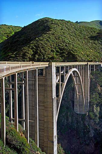 California State Route 1「Bixby Bridge」:スマホ壁紙(8)