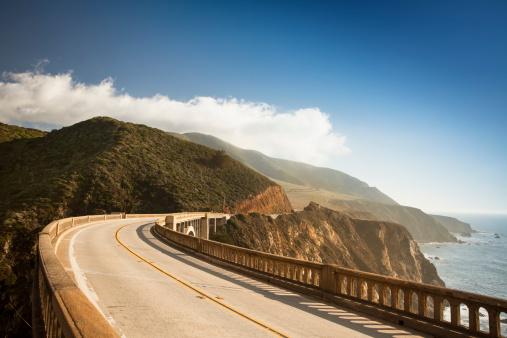 Sea「Bixby Bridge, Big Sur, California, USA」:スマホ壁紙(4)