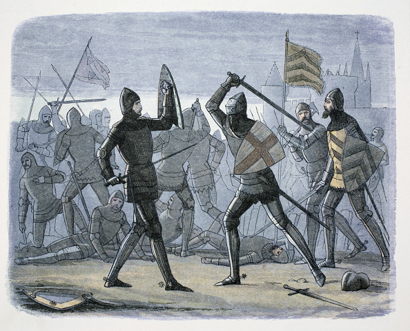 Calais「The Siege Of Calais France 1346-1347 (1864)」:写真・画像(7)[壁紙.com]