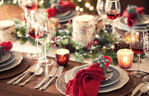 Christmas「Christmas Holiday Dining」:スマホ壁紙(13)