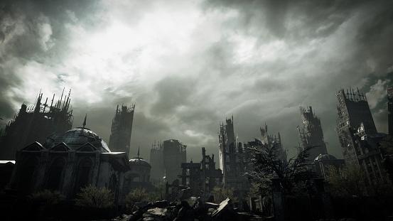 Extinct「Post Apocalyptic Urban Landscape」:スマホ壁紙(11)