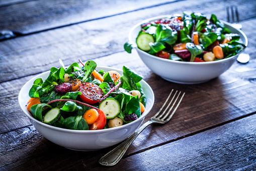 Salad Bowl「Two fresh salad bowls」:スマホ壁紙(13)