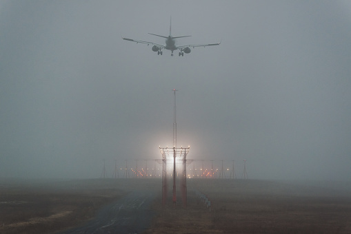 Approaching「Preparing for Landing」:スマホ壁紙(9)