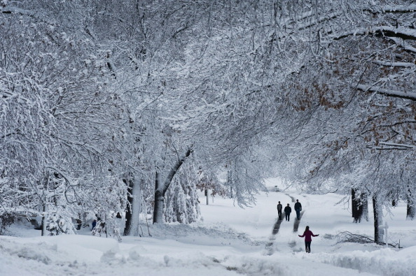 Winter「Midwest Hammered By Second Major Snowstorm」:写真・画像(2)[壁紙.com]