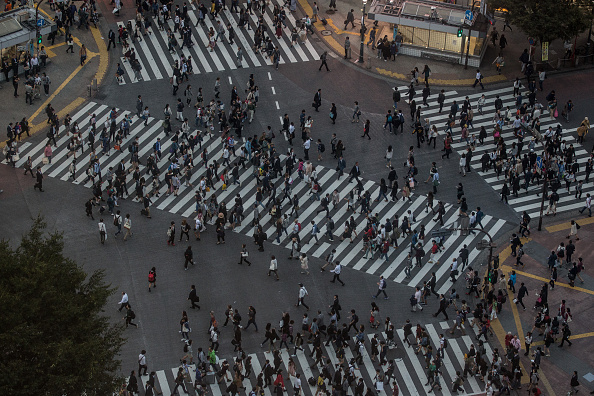Tokyo - Japan「Daily Life In Shibuya」:写真・画像(1)[壁紙.com]