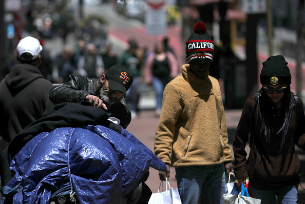 Homelessness「Number Of Homeless On San Francisco Streets Rises 17 Percent Over Last Two Years」:写真・画像(15)[壁紙.com]