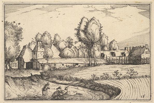 Etching「Road Along A Field」:写真・画像(12)[壁紙.com]