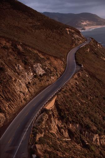 California State Route 1「Road along Mountainside」:スマホ壁紙(18)