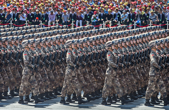 Army Soldier「China Holds Military Parade To Commemorate End Of World War II In Asia」:写真・画像(12)[壁紙.com]