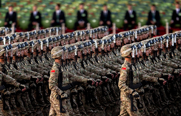 Military「China Holds Military Parade To Commemorate End Of World War II In Asia」:写真・画像(0)[壁紙.com]