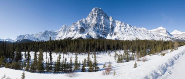 ケフレン山「Canadian Rockies」:スマホ壁紙(4)