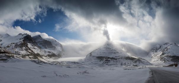 コロンビア大氷原「Canadian Rockies」:スマホ壁紙(19)