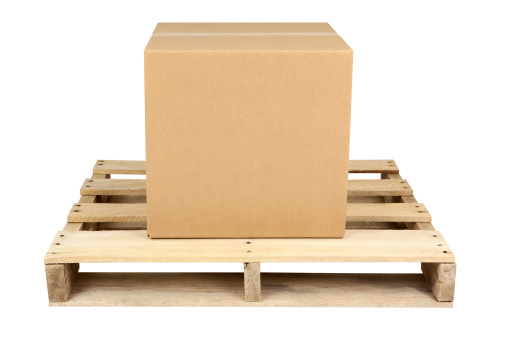 Box - Container「Box on Shipping Pallet」:スマホ壁紙(16)