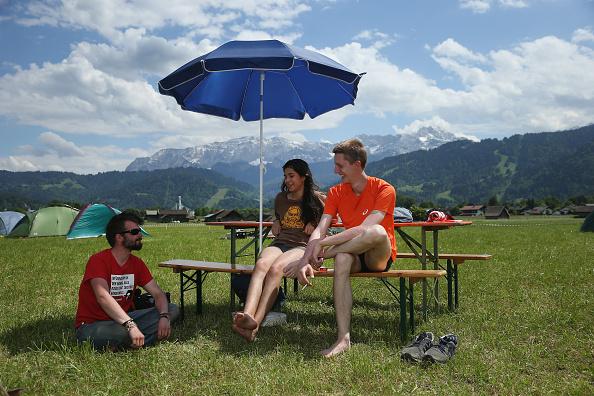 Camping「G7 Summit At Elmau - General Preparations」:写真・画像(9)[壁紙.com]