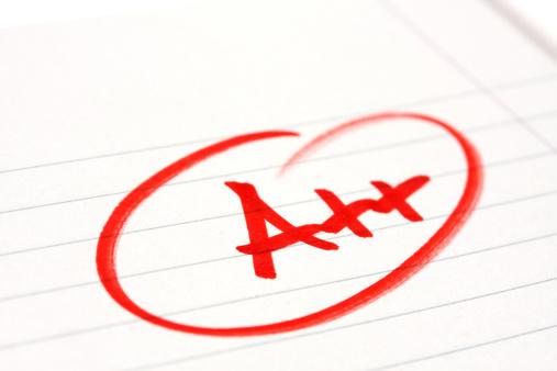 Educational Exam「Very good mark」:スマホ壁紙(19)