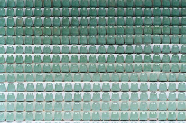 Numbered Seats in Stadium:スマホ壁紙(壁紙.com)