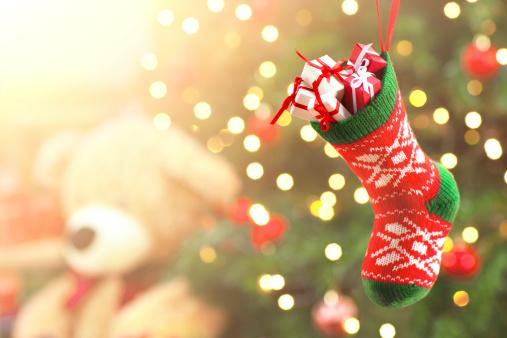 Christmas Stocking「Christmas presents」:スマホ壁紙(11)
