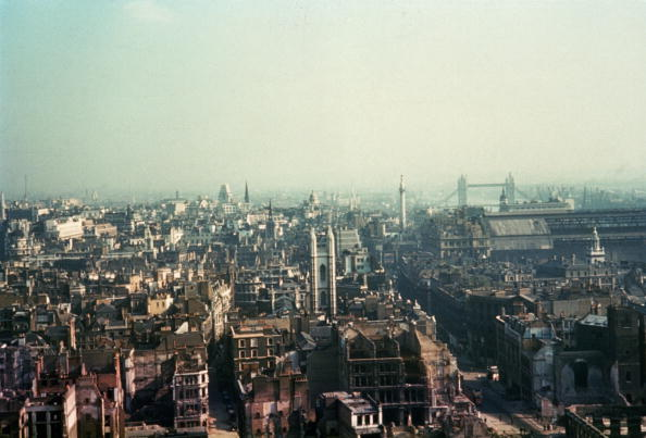 World War II「Blitzed London」:写真・画像(7)[壁紙.com]