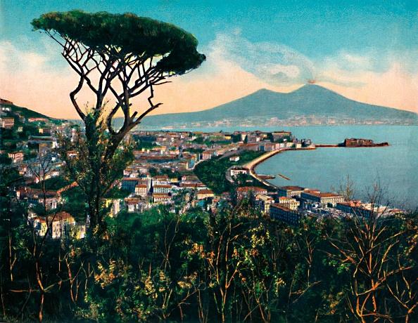 Mediterranean Sea「Napoli - Panorama Dalla Tomba Di Virgilio」:写真・画像(0)[壁紙.com]