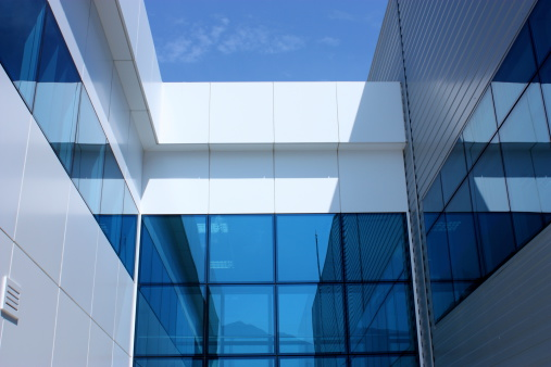 Cross-processed「Modern Glass Architecture」:スマホ壁紙(12)