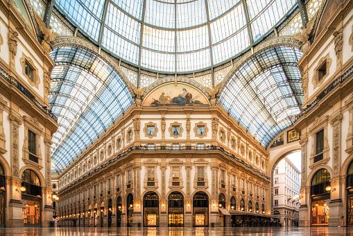 Classical Style「Galleria Vittorio Emanuele II, Milan」:スマホ壁紙(14)