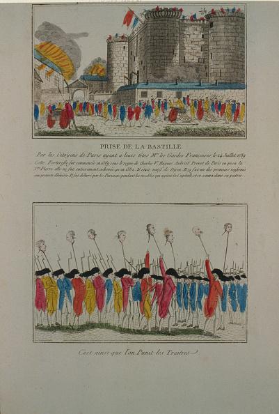 Etching「The demolition of the Bastille, July 14, 1789, 1789」:写真・画像(9)[壁紙.com]