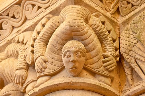 Nouvelle-Aquitaine「Saint-Pierre of Aulnay Church」:スマホ壁紙(10)