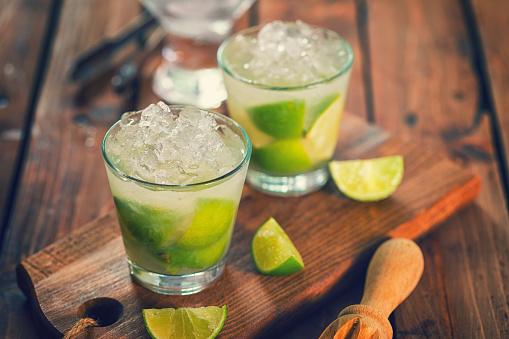 Alcohol - Drink「Sweet and Refreshing Drink Caipirinha Cocktail」:スマホ壁紙(12)